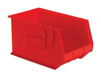 "Parts Bins, 18"" x 11"" x 10""H, Red by Cleanroom World"