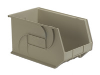 "Parts Bins, 18"" x 11"" x 10""H, Stone by Cleanroom World"