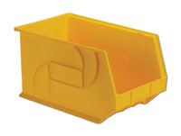 "Parts Bins, 18"" x 11"" x 10""H, Yellow by Cleanroom World"