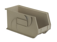 "Parts Bins, 18"" x 8"" x 9""H, Stone by Cleanroom World"