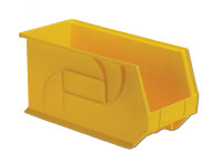 "Parts Bins, 18"" x 8"" x 9""H, Yellow by Cleanroom World"