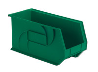"Parts Bins, 18"" x 8"" x 9""H, Green by Cleanroom World"