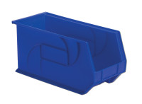 "Parts Bins, 18"" x 8"" x 9"", Blue by Cleanroom World"