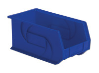 "Parts Bins, 14"" x 8"" x7""H, Blue by Cleanroom World"