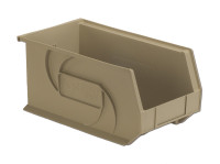 "Parts Bins, 14"" x 8"" x 7""H, Stone by Cleanroom World"