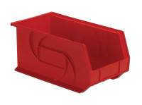 "Parts Bins, 14"" x 8"" x 7""H, Red by Cleanroom World"