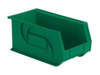 "Parts Bins, 14"" x 8"" x 7""H, Green by Cleanroom World"