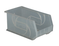 "Parts Bins, 14"" x 8""x 7"", Clear by Cleanroom World"