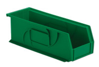 "Parts Bins, 14""x 5"" x 5""H, Green by Cleanroom World"