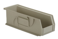 "Parts Bins, 14""x5""x5""H, Stone by Cleanroom World"
