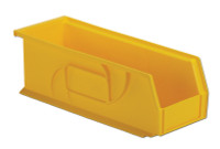 "Parts Bins, 14""x5""x5""H, Yellow by Cleanroom World"