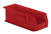 "Parts Bins, 14"" x 5"" x 5""H, Red by Cleanroom World"