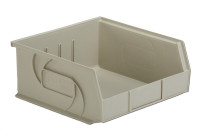 "Parts Bins, 10""x11""x5""H, Stone by Cleanroom World"