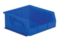 "Parts Bins, 10""x11""x5""H, Blue by Cleanroom World"