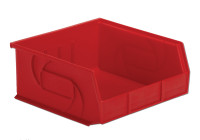 "Parts Bins, 10""x11""x5""H, Red by Cleanroom World"