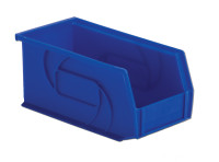 "Parts Bins, 10""x5""X5""H, Blue by Cleanroom World"