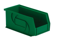 "Parts Bins, 10""x5""x5""H, Green by Cleanroom World"
