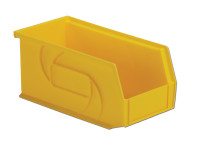 "Parts Bins, 10""x5""x5""H, Yellow by Cleanroom World"