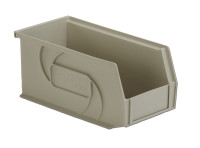 "Parts Bins, 10""x5""x5""H, Stone by Cleanroom World"