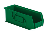 "Parts Bins, 10""x4""x4""H, Green by Cleanroom World"