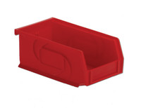 "Parts Bins, 7""x4""x3""H, Red by Cleanroom World"