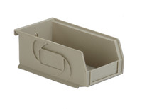 "Parts Bins, 7""x4""x3""H, Stone by Cleanroom World"