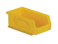 "Parts Bins, 7""x4""x3""H, Yellow by Cleanroom World"
