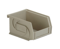 "Parts Bins, 5""x4""x3""H, Stone by Cleanroom World"