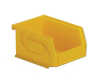 "Parts Bins, 5""x4""x3""H, Yellow by Cleanroom World"