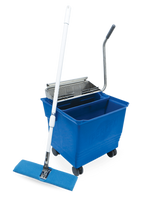 Cleanroom Mop Bucket System - Perfex TruClean II Compact Flat Mop System by Cleanroom World