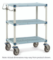 """Corrosion Resistant Carts, 18""""x 30""""  by Cleanroom World"""