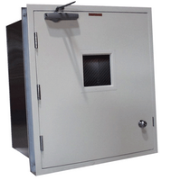 Fire Rated Pass Throughs 25x26x20 by Cleanroom World