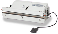 "Vacuum Heat Sealers, Nozzle Vacuum System, Table Top, Low Volume, Seal Length: 25""  AV-PVT-25  by Cleanroom World"