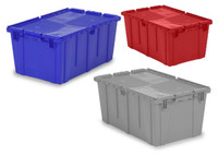 "FliPack Dark Blue Containers 24.4"" x 16.9"" by Cleanroom World"