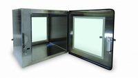 Fully Welded Pass Throughs 24x24x24 by Cleanroom World