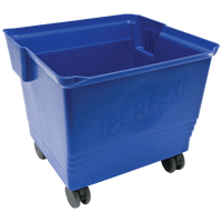 Cleanroom Buckets, 36 Liter, Blue by Cleanroom World