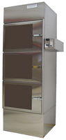 Stainless Steel Desiccator Cabinets 24x10x24 by Cleanroom World