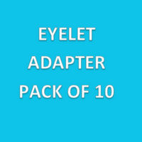 Eyelet Adapter; Pack of 10 By Cleanroom World