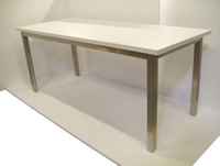 """ESD Cleanroom Laminate Tables, 72""""x24""""x30""""H by Cleanroom World"""
