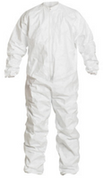 Tyvek Coveralls, IsoClean, Elastic Wrists/Ankles, Bulk Packaged, S-7XL  by Cleanroom World