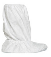"Tyvek Boot Covers, PVC Sole, 15""H, DuPont IsoClean, M-XL by Cleanroom World"