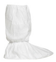 "Tyvek Boot Covers, IsoClean, Gripper Sole, 18""H, Bulk Packaged, 50 pairs, M-XL by Cleanroom World"