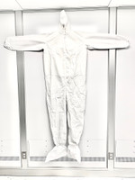 Microporous Coveralls, Coated, Zipper, Elastic Wrist, Attached Hood & Boots, 25/cs, M-4XL By Cleanroom World