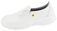 ESD Cleanroom Shoes, X-Light, Slip On, Size 35, by Cleanroom World