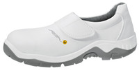 Cleanroom ESD Steel Toe Shoes, Washable, Unisex, Size 36, White by Cleanroom World