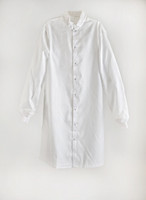 Cleanroom ESD Frock, Alt Grid 4% Carbon, ESD Knit Cuffs, White, XS-6XL by Cleanroom World