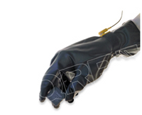 Cleanroom Chemical Gloves, Solvent Resistant, Polyurethane, ESD, Static Dissipative, S-XL, 4 Mil by Cleanroom World