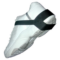 Reusable Heel Grounders, XL, Black by Cleanroom World