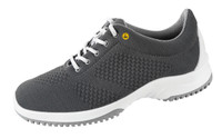 Knitted Textile ESD Cleanroom Shoes, Gray by Cleanroom World