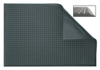 Cleanroom Anti-Fatigue Mats, Fire Retardant, Anthracite by Cleanroom World